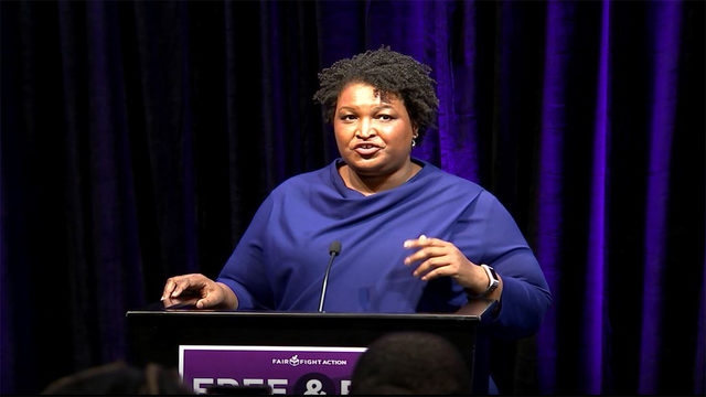 Stacey Abrams speaks on possible 2020 Senate bid during 'Thank You' tour