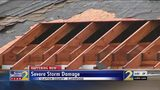 Strong storms cause severe damage to roofs in Clayton County
