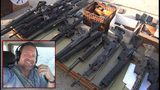 Arsenal of weapons found at Dentist's office