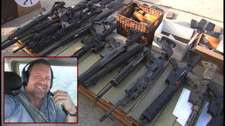 Arsenal of guns, ammunition found at dentist