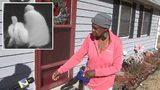 Woman attacked at her front door walks Channel 2's Tom Jones through what happened.