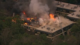 Massive fire breaks out at DeKalb County office complex
