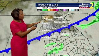 Rainy start to Saturday but expect breaks later in day