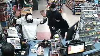 CAUGHT ON CAMERA: Masked gunmen hold up Gainesville gas station