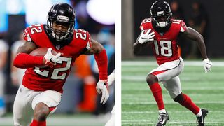 2 of your favorite Atlanta Falcons players each got engaged recently!