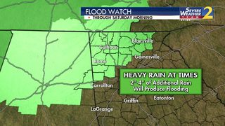 BE PREPARED: Another wave of rain, storms expected today