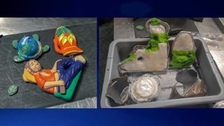 3 pounds of cocaine found hidden in figurines at Atlanta airport (PHOTOS)