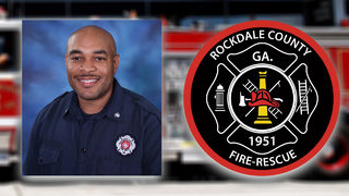 Rockdale firefighter killed in crash on his way to work