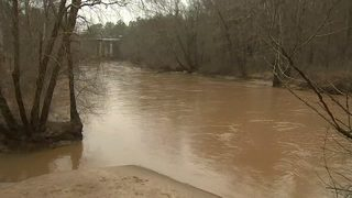 FLOOD WATCH: Water rising along metro creeks and rivers