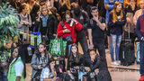 Travelers at Hartsfield-Jackson Atlanta International Airport say lines at the airport Monday morning were the worst they've ever seen. (Photo: John Spink, AJC)