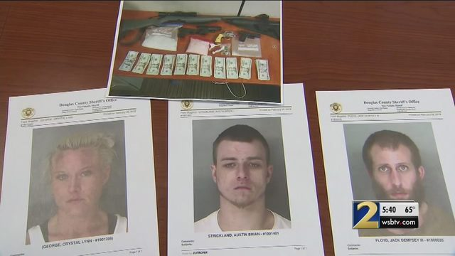 Home filled with drugs, guns discovered during arrest of