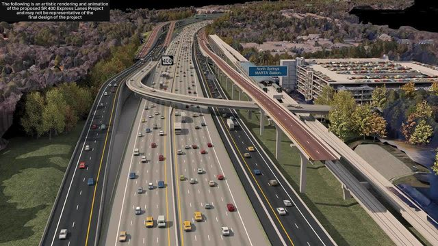 Major Atlanta highway expansion will come at the cost of a number of
