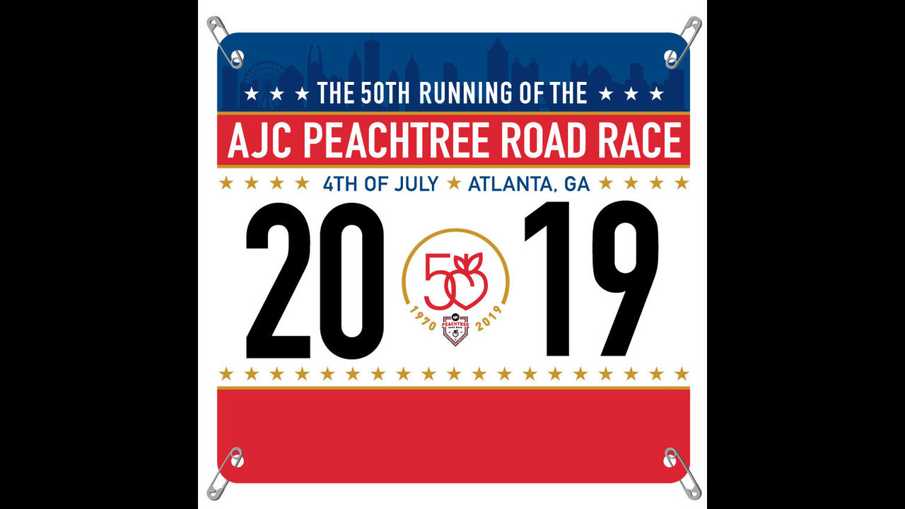 Which celebrity design should be on 2019 Peachtree Road Race