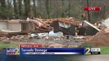Trees shredded, homes damaged in Talbot County after deadly tornadoes