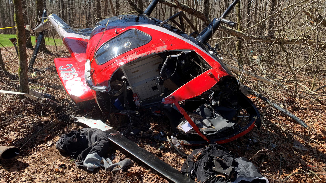 HELICOPTER CRASH GEORGIA: Pilot dies hours after tree-trimming