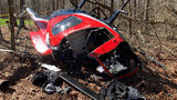 Helicopter crash in Pickens County