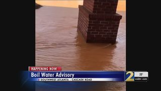 Water main break fixed, but tens of thousands of people still cannot drink water