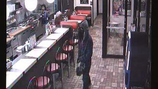 Video shows man in bathrobe robbing metro Waffle House