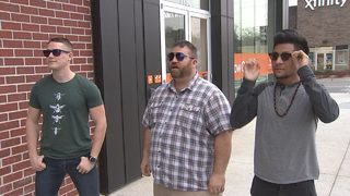 Three Atlanta men get to see a whole new world thanks to some special glasses