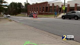 2 teens hit by car in front of Cobb County high school