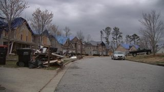 Neighbors still not able to be in their homes 1 year after tornado