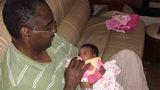 Jeff Gwinn and grandchild