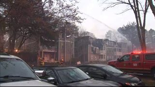 At least 20 apartment units destroyed in massive fire, police say