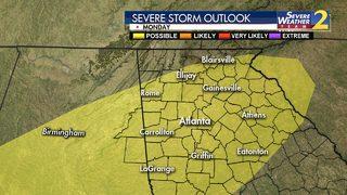 Enjoy sunshine Sunday: Chance of rain, storms returns to start work week
