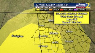 Severe storm risk increasing over next several hours; large hail possible