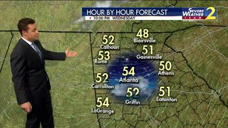 Mostly sunny Wednesday afternoon ahead