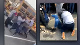6 girls charged after high school parking lot brawl (VIDEO)