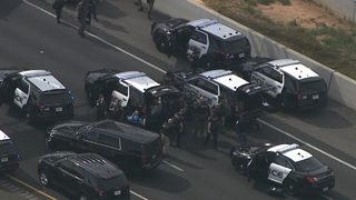 6ed789deda86 PHOTOS  Police surround armed driver on I-75 standoff in Cobb County ...