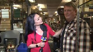 Local business owner hits jackpot after buying Hall of Famer