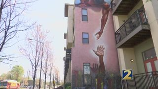 Downtown Atlanta mural reflects civil rights and social justice journey