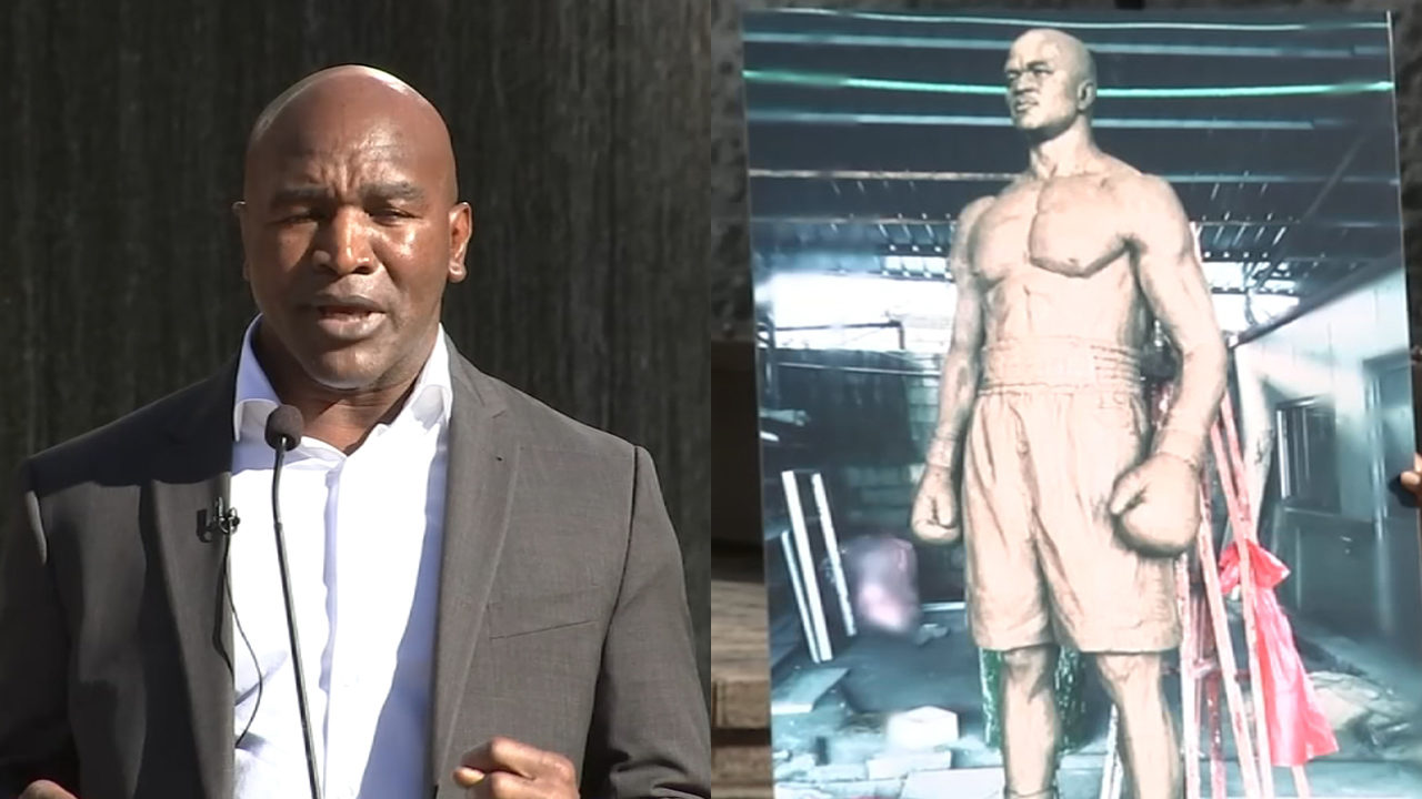 2 years ago, city announced statue honoring boxing legend -- so where is it?