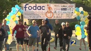 Community network supports FODAC Run, Walk and Roll