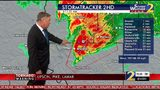Severe Weather Team 2 Chief Meteorologist Glenn Burns tracked the tornadoes that moved through Pike and Lamar counties.