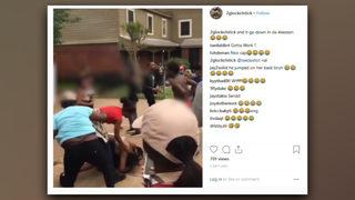 Police need help identifying people involved in neighborhood brawl