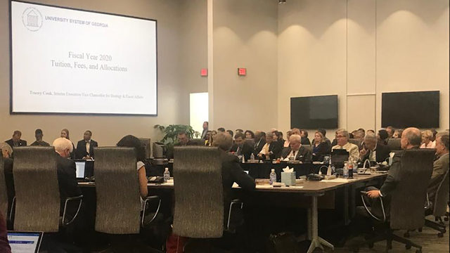 GEORGIA TUITION PRICES: Board votes to increase college tuition at Georgia universities for fall 2019