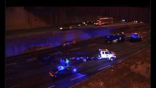 1 killed, 6 injured after driver fleeing police on I-75/85 hits 2