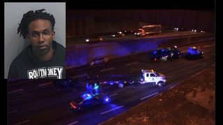 1 killed, 6 injured after driver fleeing police on I-75/85 hits 2 cars, police say