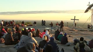 Montell Jordan delivers Easter sermon at sunrise service at Stone Mountain