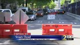 Busy midtown Atlanta road closed because of underground sinkhole