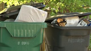 Neighbors fed up with trash not being picked up