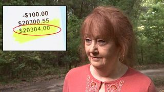Woman says $20K water bill forced her out of own home