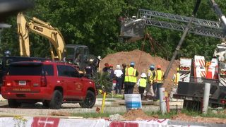 Worker killed after being trapped in 16-foot-deep trench