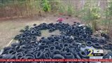 Man responsible for dumping 100,000+ tires across metro in custody, police say