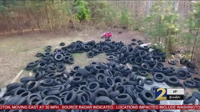 Man Responsible For Dumping 100 000 Tires Across Metro In