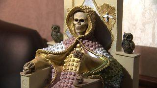 PHOTOS: Cartels worship 'narco saint' statues, use prayer