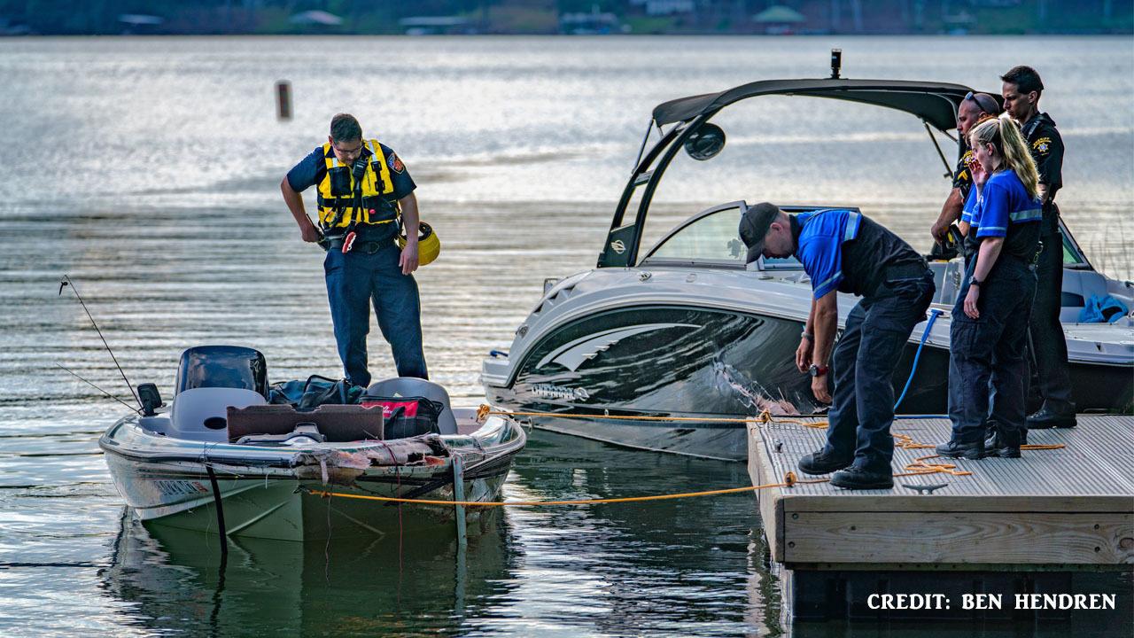 Two fishermen missing after boat crash on Lake Lanier | WSB-TV